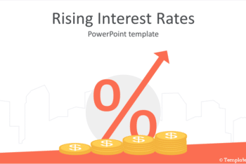 Free Rising Interest Rates Powerpoint Template