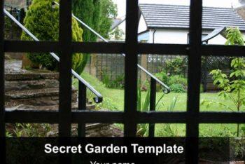 Free Modern Home Garden Powerpoint Template