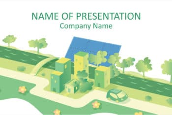 Free Solar Energy Concept Powerpoint Template