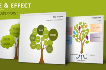 Free Causality Tree Diagram Powerpoint Template