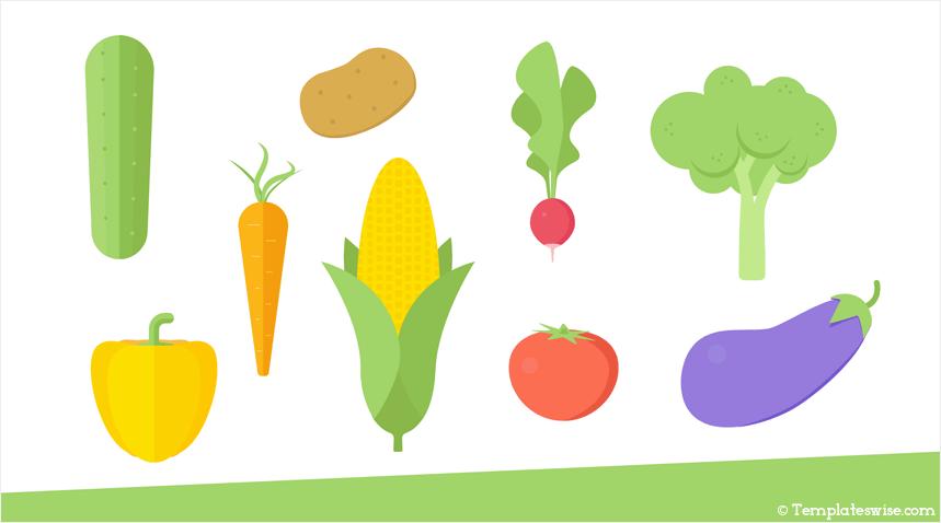 Veggies Icon Slides
