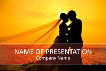Free Wedding Ceremony Slides Powerpoint Template