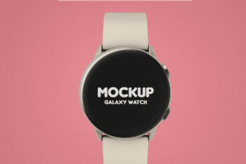 Watch PSD Mockup Template – Available for Free