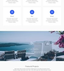 Download Startup Landing Page Adobe XD Template for Free