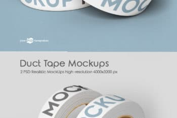 Duct Tape PSD Mockup for Free