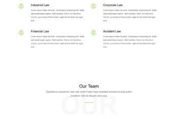 Justice – Law Firm HTML Template