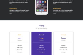 Appster – App Landing Page HTML Template