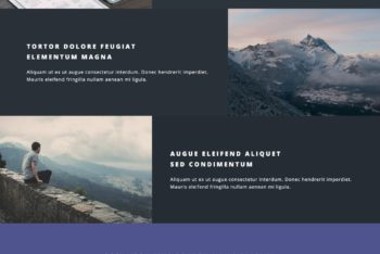 Download Spectral – One Page Portfolio HTML Template