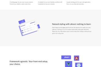 Download Evie – Landing Page HTML Template