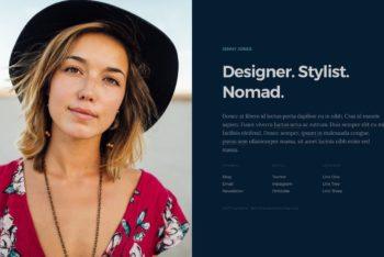 Split – Personal Portfolio  HTML Template