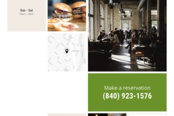 Download Free Landing Page HTML Template for Restaurant
