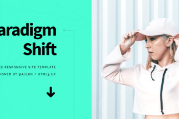 Paradigm Shift – A Free Responsive HTML Template