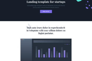 Ruby – Fully Responsive Landing Page HTML Template for Free