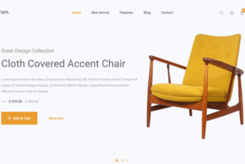 Furn. – Free eCommerce Website Template Download