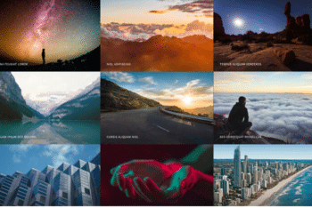 Multiverse – Free Photography Website Template Download