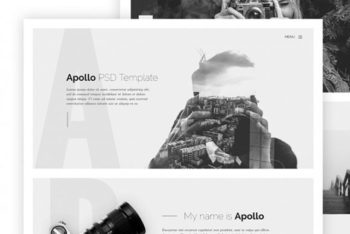 Apollo – HTML Template for Photographers Free Download