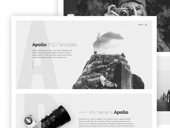 Apollo - HTML template for photographers