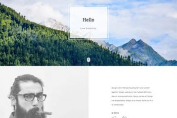 Bodo – Personal Website HTML Template Download