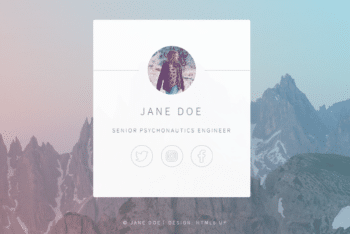 Identity – Responsive HTML Website Template