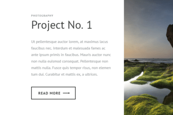 PhotoGallery – Free HTML Template for Photo Gallery Websites