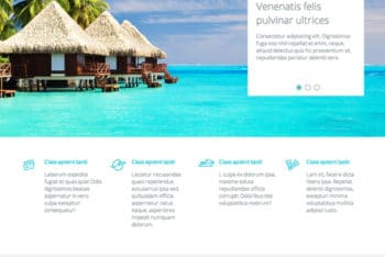 Travel Agency Responsive HTML Template for Free