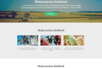 Versatile Horizons – Free Travel Website HTML Template