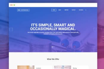 X-Corporation – Bootstrap HTML Template Available for Free