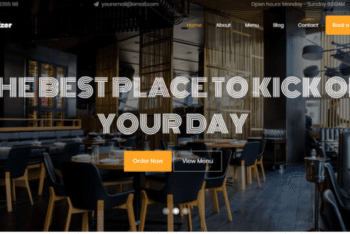 Appetizer – Free Restaurant Website Template