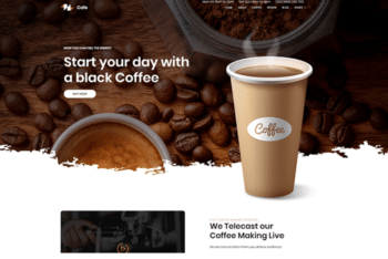 Coffee – Coffee Shop Website Template