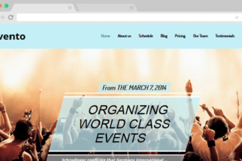 Evento – Event Website Template (Responsive)