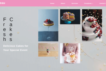 Gateau – Free Restaurant Website Template