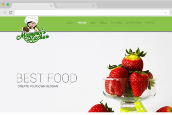 Mammas Kitchen – A Free Restaurant Website Template