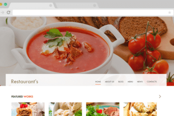 Spicy – Free Restaurant Website Template