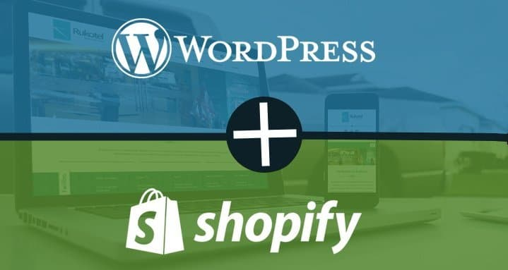 Create a WordPress ecommerce store with Shopify