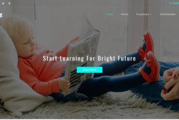 Informing – Education Web Template Download