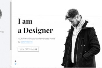 Jackson – Free Portfolio Website Template