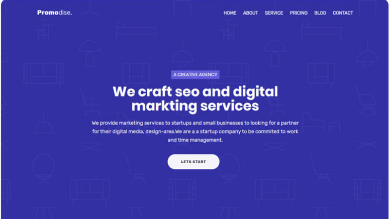 Promodise - Bootstrap 4 Agency Web Template