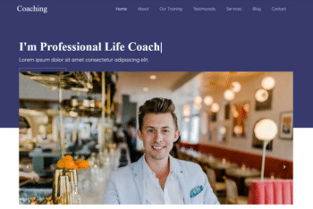 Coaching – Free HTML Education Website Template