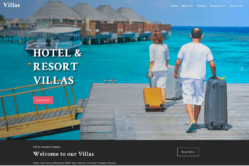 Villas – Responsive Hotel Website HTML Template