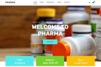 Pharma – A Free Pharmacy Website HTML Template