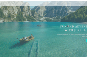 Sail Trip – Travel Website Bootstrap HTML Template