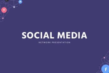 Social Media Keynote Template for Free
