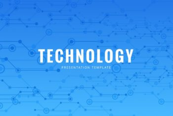 Free Technology Keynote Template