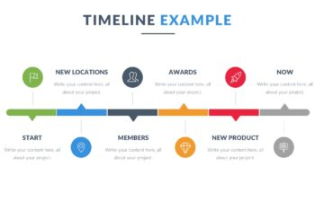 Timeline Keynote Template for Free
