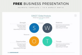 Free Keynote Template for Business Presentations