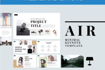 Air – Free Minimal Keynote Template