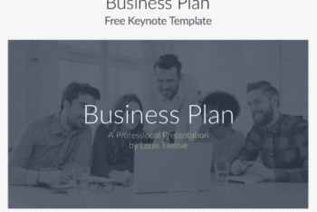 Business Plan Keynote Template for Free
