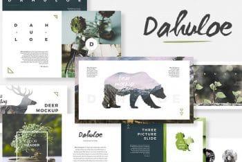 Dahuloe Keynote Template Download for Free
