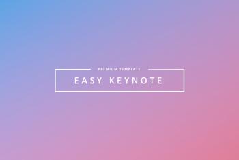 EASY – Free Keynote Template