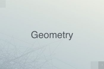 Geometry Keynote Template for Free